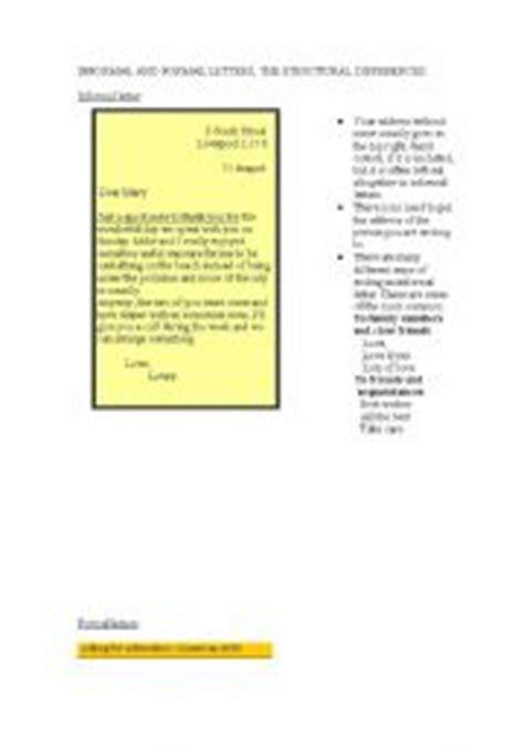 Informal Letter Free Essays - PhDessaycom